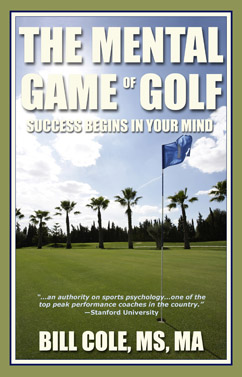 The Mental Game Of Golf, book by Bill Cole