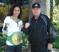 Miriam Nakamoto with Bill Cole